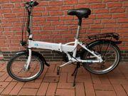 McKenzie E-Bike Faltrad Elektrofaltrad Klapprad