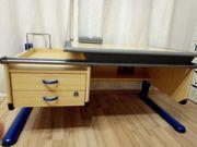 Schreibtisch für Kinder höhenverstellbar