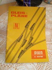 Gleispläne Spur N - Piko - DDR
