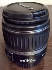 Objektiv Canon EFS 18-55mm f
