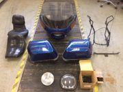 Verkleidung Koffer Fairing für Harley-Davidson