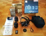 Verkaufe Nikon D3100 Digtalkamera