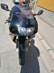 Motorrad suzuki gsxr 750 gold
