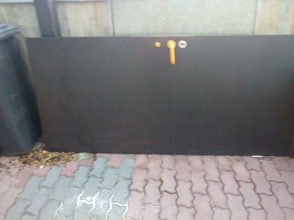Haustür aus massivem Holz