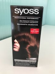 SYOSS Haarfarbe 4-8 Schokobraun