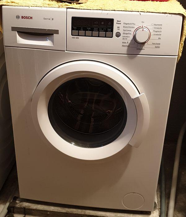 Waschmaschine von Bosch 6 KG Neuwertig - Kornwestheim - Neuwertige Waschmaschine Bosch Serie 26Kg / 1400U/min EEF: A+++ - Kornwestheim