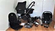 Schwarzer Bugaboo Cameleon 3 Kinderwagen