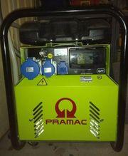 Gebraucht, Diesel-Stromgenerator Pramac P4500 E-Start gebraucht kaufen  Lübeck Buntekuh