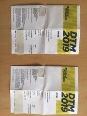 Karten für das DTM-Rennen