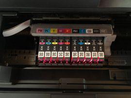 Tintenstrahldrucker - Canan PIXMA PRO-10 mit Patronen