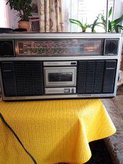 Stereo Radio Kassettenspieler 70er Jahre