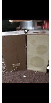2 Lautsprecher Boxen