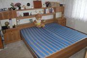 Doppelbett mit hinten dran Sideboard