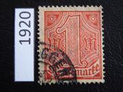 Deutsches Reich 1920 Dienstmarke
