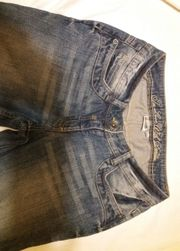 Jeans blau Gr 36 sehr