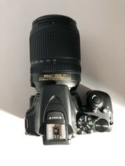 Spiegelreflexkamera NikonD5600 18-140mm Objektiv