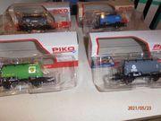 5 Neue Güterwagen HO von