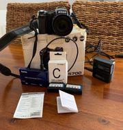 Nikon Coolpix 5700 schwarz
