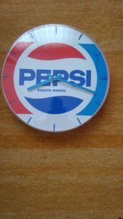 Pepsi Cola Wanduhr mit Quartz-Werk