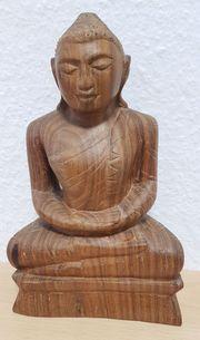 Buddha Massivholz unbemalt siehe Abbildungen