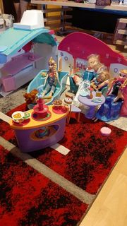 Barbie Schiff mit Zubehör Breit