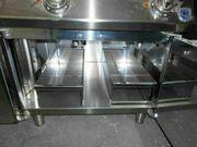 Elektro-Fritteuse mit 2 Becken aus