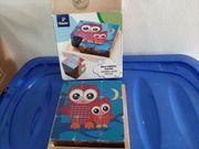 Kinder Holzwürfel Puzzle von Tchibo