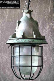 1 30 Kleine vintage Industrielampen