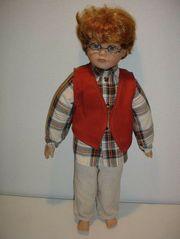 Sebastian Porzellanpuppe Puppe aus Buskuitporzellan