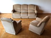 Mohair Couchgarnitur 3-Sitzer SOFA 2