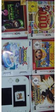 Nintendo 3DS mit Spiele
