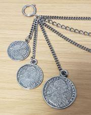 Charivari Trachtenschmuck Trachtenkette mit Münzen
