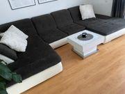 Schöne Wohnlandschaft - Couch U-Form - XXL