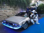 DeLorean Zeitmaschine Filmauto mieten für