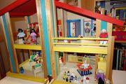 Rarität neuwertiges Selecta Holzpuppenhaus Casa
