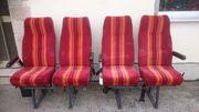 Doppelsitze Reisebus Wohnmobil mit Sicherheitsgurt
