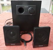 PC-Lautsprecher Boxen PHILIPS guter Zustand
