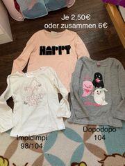 Mädchen Kleiderpaket in 98-110