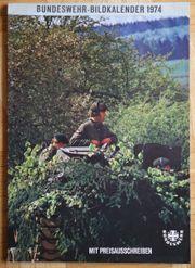 Bundeswehr-Bildkalender 1974 Heer Marine Luftwaffe