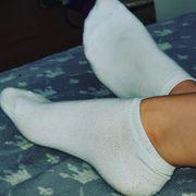 Getragne Socken
