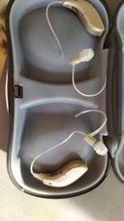 Zwei hochwertige Hörgeräte Firma Kind