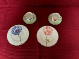 Geschirr und Besteck - Villeroy Boch Flora Porzellan Geschirr