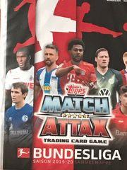 Match Attax Karten 2019 2020