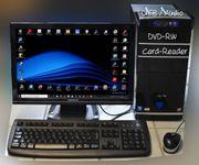 Multimedia-PC mit Monitor Tastatur Maus