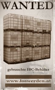 Suche gebrauchte IBC-Behälter -Tanks und