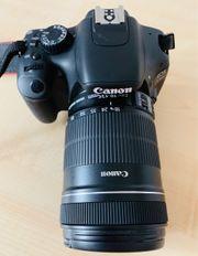 Digitalkamera CANON EOS 550D Objektiv