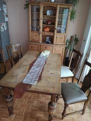 Esszimmertisch antik inkl 4 Stühle