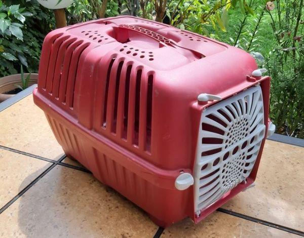 Transportbox für Kaninchen o Meerschweinchen