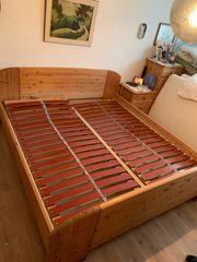 Doppelbett Ehe Bett Kiefer aus