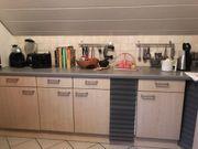 Komplette Aljö Küche mit Elektrogeräten